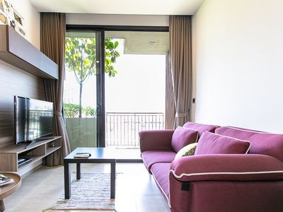 Photo for comfy 1 ฺbed condo at Mori Haus / T77 / BTS ON NUT