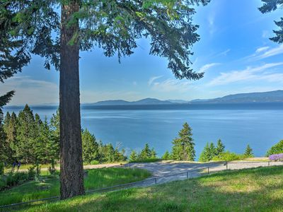 Photo for Private Bigfork Home Overlooking Flathead Lake!