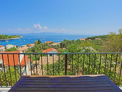 Photo for Villa The Antonis: Stunning sea views, A/C, in Gaios Paxos