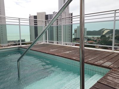 Photo for Apartment in Ponta negra beach with privileged view.