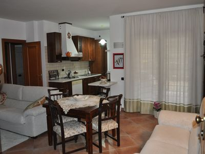 Photo for Complete relaxation in Rome in the house with garden, garage and free WiFi