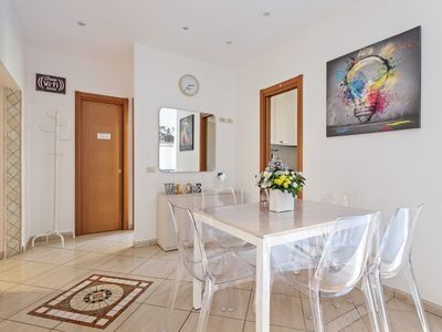 Photo for Bright, renovated apartment w/ WiFi - five-minute walk to the Vatican!
