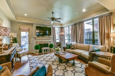 Family Room, ample seating!