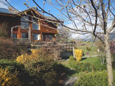 Photo for Beautiful spacious chalet with rare panoramic views, & Serre Ponçon Lake