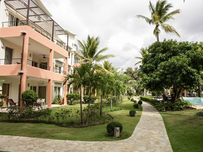 Photo for Comfortable Apartment in Caribbean Paradise, Sosua, Infiniti Blu, apart K3E