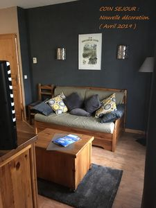 Photo for Apartment sleeps 6. 2 bedrooms. 38 m2. At the foot of the gondolas of St Gervais.