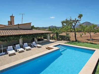 Photo for Comfortably furnished villa within easy reach of town w/ Wi-Fi and pool