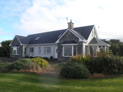 Photo for 4* Quality home with spectacular views of Galway Bay and Burren hills