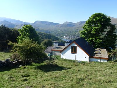 Photo for Holiday Cottage With Extensive Mntn And Lake Views Over Snowdon And Llyn Padarn