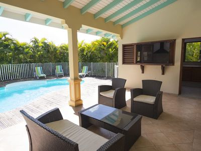 Photo for BEAUTIFUL SECURED VILLA SWIMMING POOL, PARKING, GROUNDS