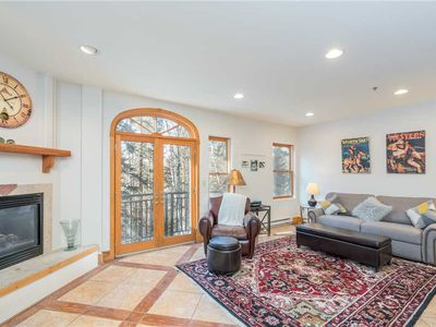Photo for Curl Up Next to the Fire in This Cozy One-Bedroom Condo