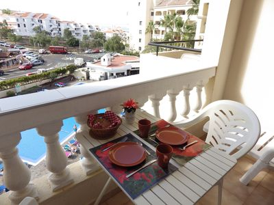 Photo for One bedroom pool view apartment