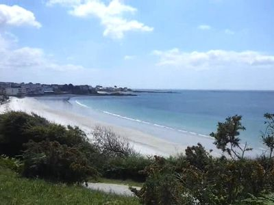 Photo for 50m from the beach, in the heart of the spa - sea view & heated freshwater pool