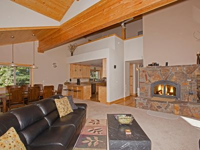 Photo for Brookstone - Spacious Tahoe Donner 5 BR  w/ Hot Tub - Sleeps 12. From $400/nt