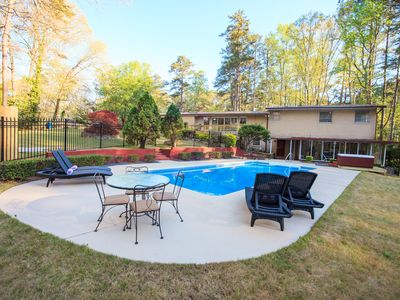 Photo for Large Private Home *Private Pool*HotTub*BBQ*Foosball*-Close To Airport&Downtown