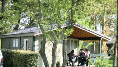 Photo for Camping Kerlaz *** - Chalet SUN 3 Rooms 5 People