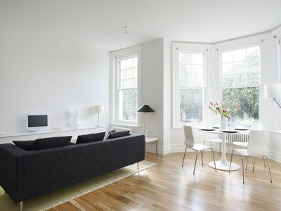 Photo for Beautiful Two Bed Flat Overlooking Clapham Common