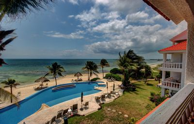 Photo for Condo #232 at Caribbean Reef Villas - OceanFront, huge pool for families/couples