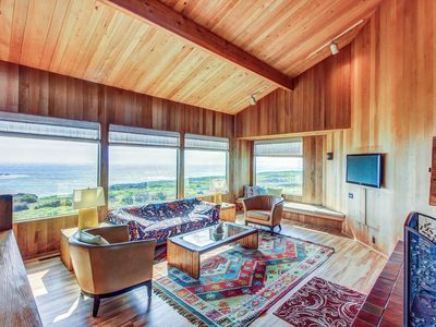 Photo for Waterfront Sea Ranch home w/ private hot tub, shared pool, & ocean views!