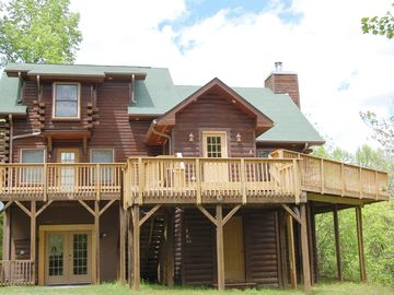 Lake Lure Log Cabin Secluded 4 Acres Minutes From Lake Lure