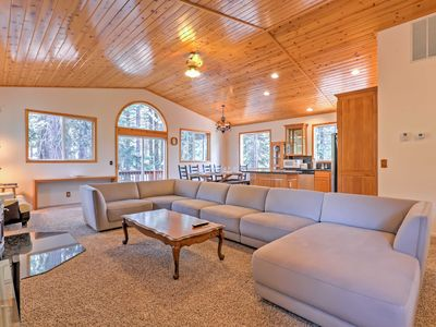 Photo for Truckee Home w/ Easy Access to Tahoe Donner