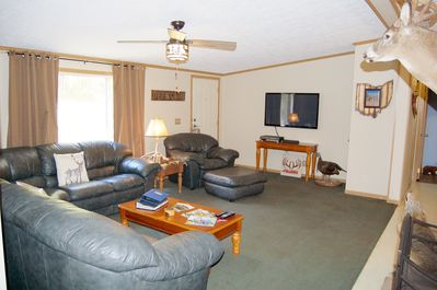 """Roomy Great Room with 50"""" TV and DVD player"""
