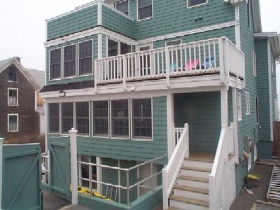 Photo for Beachfront 3 bedroom Basement Apartment on Wells Beach!