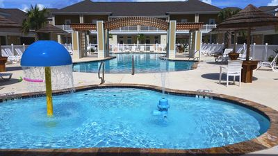 Photo for New 1b/1b condo for 6 (4ad.+2kids)! Heated pools! Steps from the BEACH! Netflix!