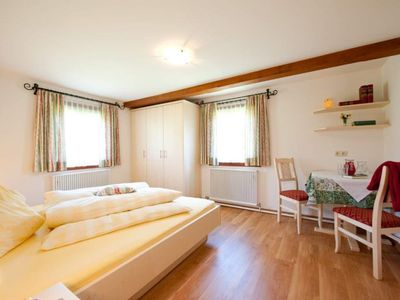 Photo for Cuddle App./ Living room / shower, toilet - Zittrauerhof, comfort apartments