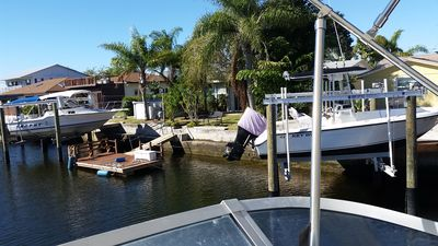 Tie up the kayaks or your boat! Fish & swim off the floating dock!