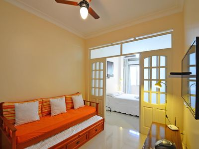 Photo for Comfortable studio for 4 persons in Copacabana!