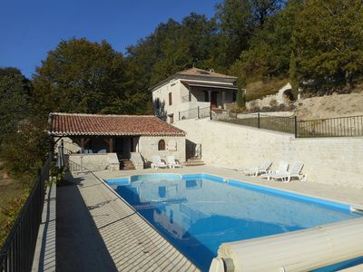 Photo for Country home for 6/8 People with big private pool & large park