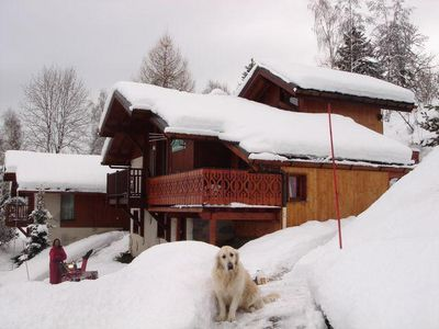 Photo for Beautiful chalet at the start of the slopes - 6 Rooms 12 people