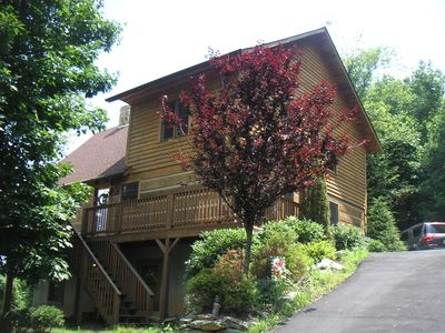 Beautiful Log Home With Amazing Panoramic V Vrbo