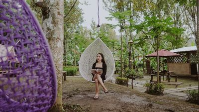 Photo for Feel The Nature at our Family Tent with Rice Terrace View and Village Ambience