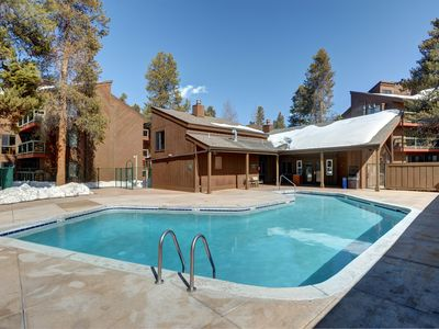 Photo for Premier Mountain Condo for 6 with Equipped Kitchen | Pool + Hot Tub Access