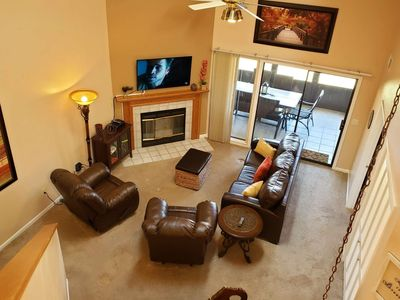 Photo for 4 Bedrooms!! .All King Beds! Great for Large Groups. Pointe Royale Condo-Indoor & Outdoor Pool.
