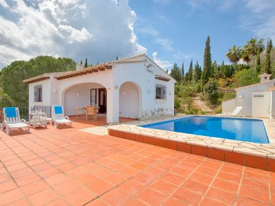 Photo for This 3-bedroom villa for up to 6 guests is located in Pego and has a private swimming pool..........