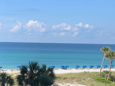 Photo for Book your cold weather getaway now!!  Relax poolside or right on the gulf!!