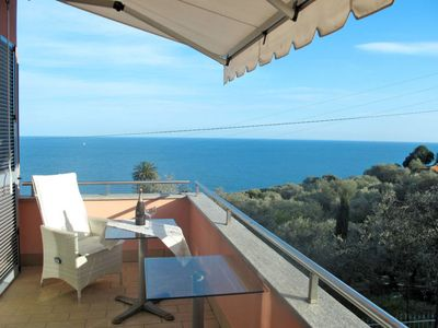 Photo for Apartment Casa Ulivi sul Mare (PGI195) in Imperia Poggi - 4 persons, 1 bedrooms