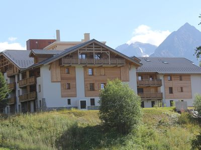 Photo for THE CRYSTAL CHALET Apartment standing with balcony view impregnable ski-in ski-out