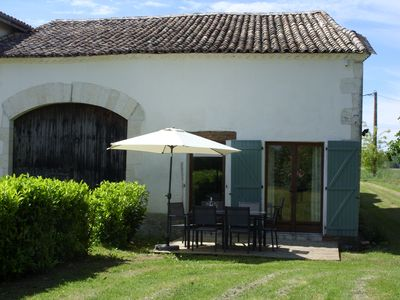 Photo for 2BR Barn Vacation Rental in St Pierre sur Dropt, Nouvelle-Aquitaine