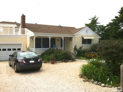 Photo for Long Beach Island LBI Loveladies Bayside Home 200 yards to beach REDUCED PRICE!
