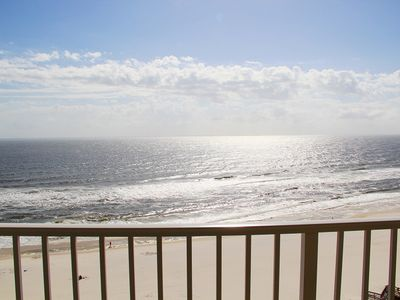 Photo for DEEP DISCOUNT PRICE FOR FALL & WINTER.  Wc 1206 -   A Beautiful  3BD/2BA with a breathtaking Gulf front view. Lots of amenities. Quote comes with one parking pass.