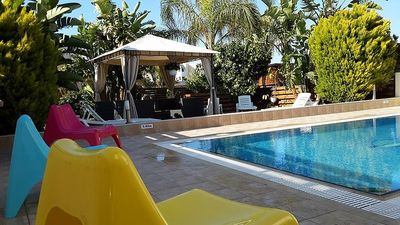 Photo for Villa With Private Pool, Sea View With Grass And 2 Gazebos