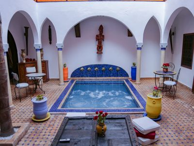 Photo for Very nice riad in the heart of medina with swimming pool