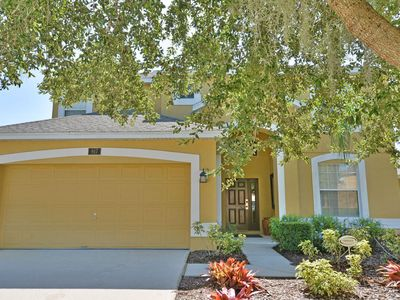 Photo for Stunning Pool Home in Gated Community - Spa, Game Room & BBQ