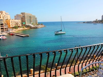 Photo for St Julians 3 Bedroom Seafront Apartment