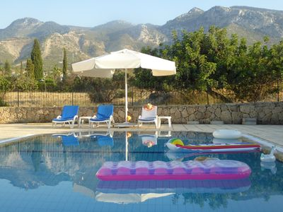 Photo for LUXURIOUS VILLA WITH SPECTACULAR MOUNTAIN & SEA VIEWS WITH THE  LATEST WIFI