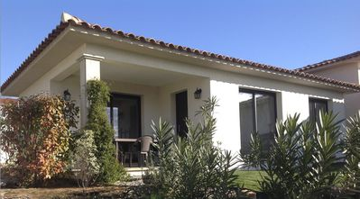Photo for House of 50m2 with garden at the foot of Mount GOZZI overlooking Ajaccio Bay